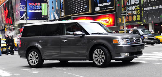 ford flex in times square