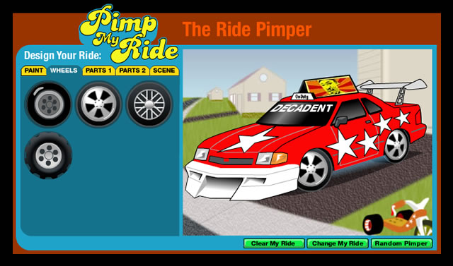 pimp my ride website