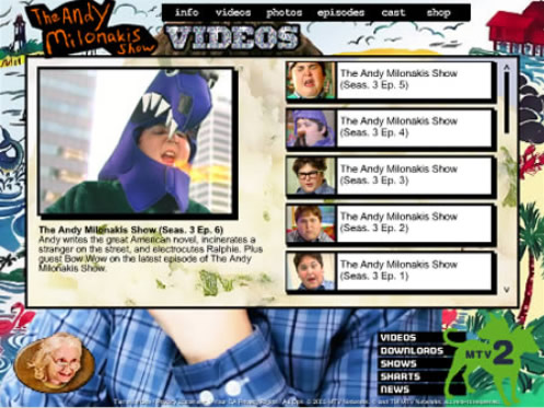 The Andy Milonakis Show videos